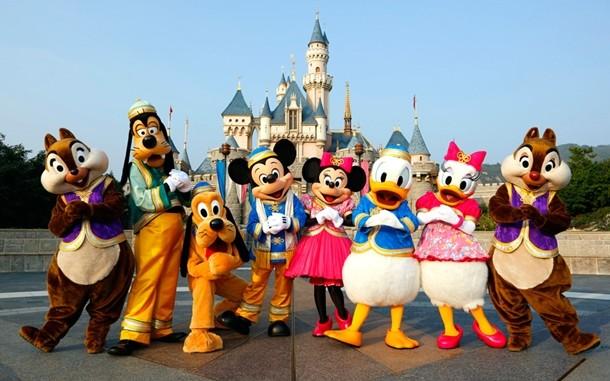 Disneyland selfie çubuğu