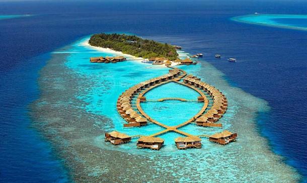Turizm cenneti Maldivler