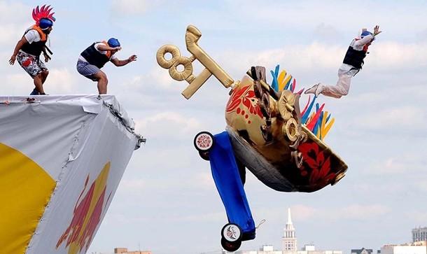 Moskova Red Bull uçuş günü
