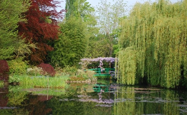 giverny monet bahçesi