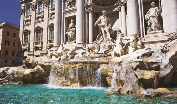 Fontana Di Trevi ( Aşk Çeşmesi)