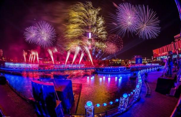 Moskova Işık Çemberi Festivali