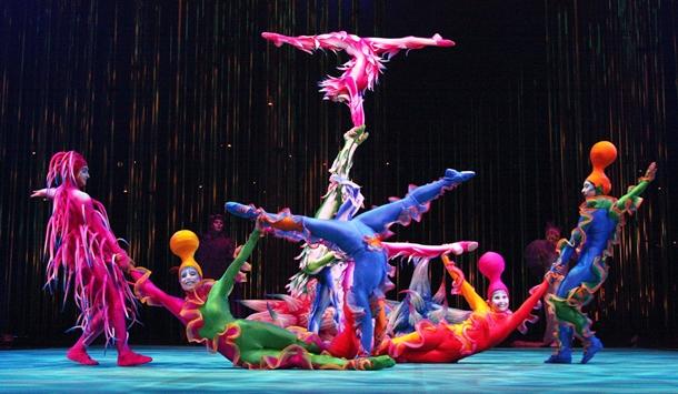 cirque do soleil moskova