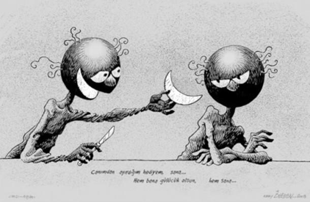 Türk karikatürü Küba