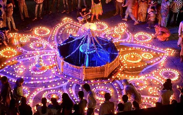 hindistan diwali festival