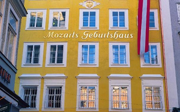 Mozarts Geburtshaus: