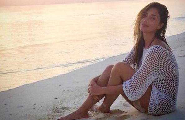 Nicole Scherzinger Maldivler