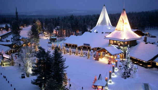 Finlandiya Lapland