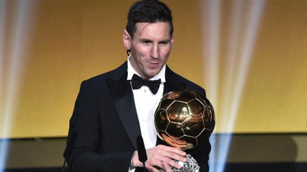 FIFA Ballon d'Or ödülü Messi