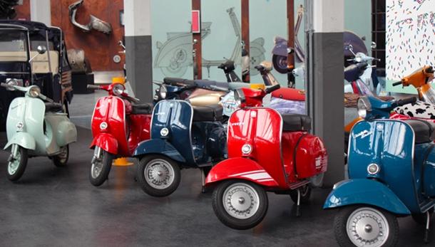 Piaggio Müzesi Vespa