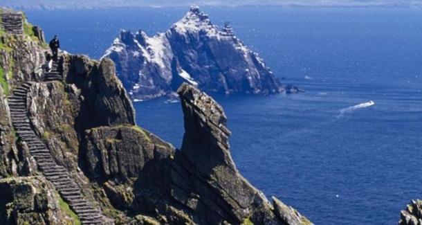 İrlanda'daki Skellig Michael Adası'nda turizm patlaması
