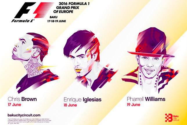 Bakü'deki ilk GP heyecanında sahne alacak isimler belli oldu