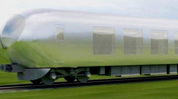 Japonlar bu kez de görünmez tren inşa ediyor!