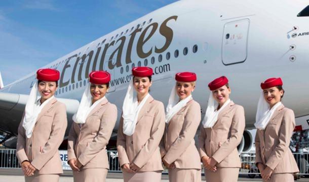 Emirates Personel Çıkartması