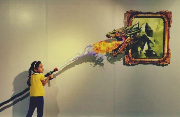 Hindistan 3D sanat müzesi