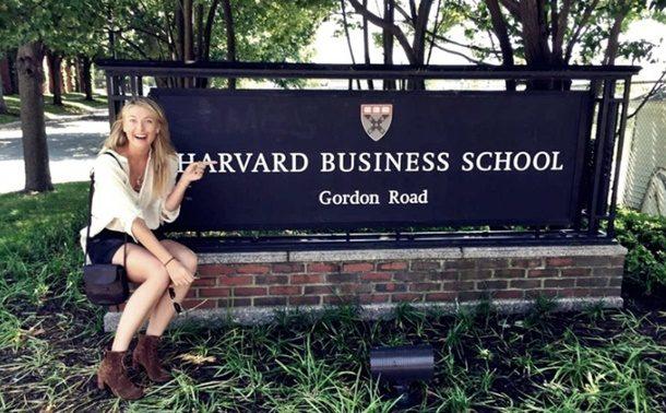 Maria Sharapova, Harvard Üniversitesi