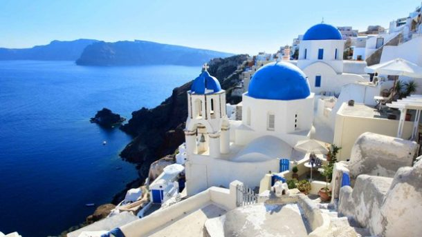 Yunanistan'da Yabancı Turist Artışı