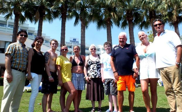 Alman turistler Türkiye'de tatil yapmaktan mutlu