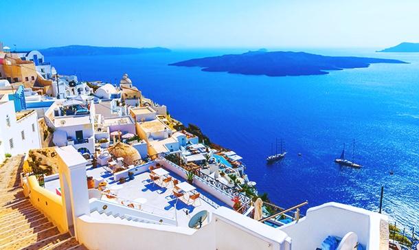 Cinnete uzak, cennete yakın Yunan adaları
