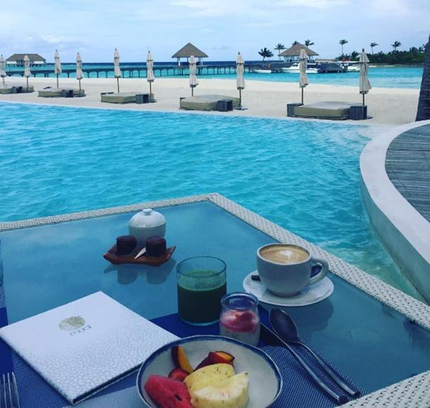 Dünyaca ünlü seyahat bloggerı Fiona Falkiner, bu kez turizm cenneti Maldivler'in yolunu tuttu.