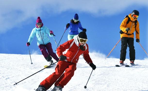 Avrupanın en popüler kayak merkezleri