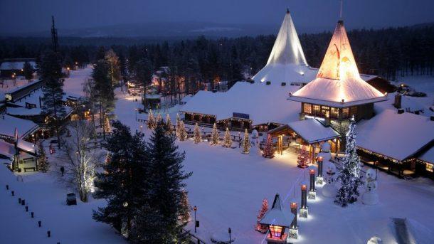 Rovaniemi Noel Baba'nın Evi