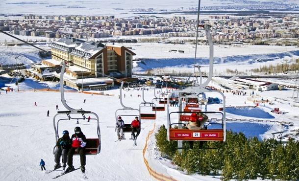Palandöken ve Konaklı Kayak Sezonuna Hazırlanıyor