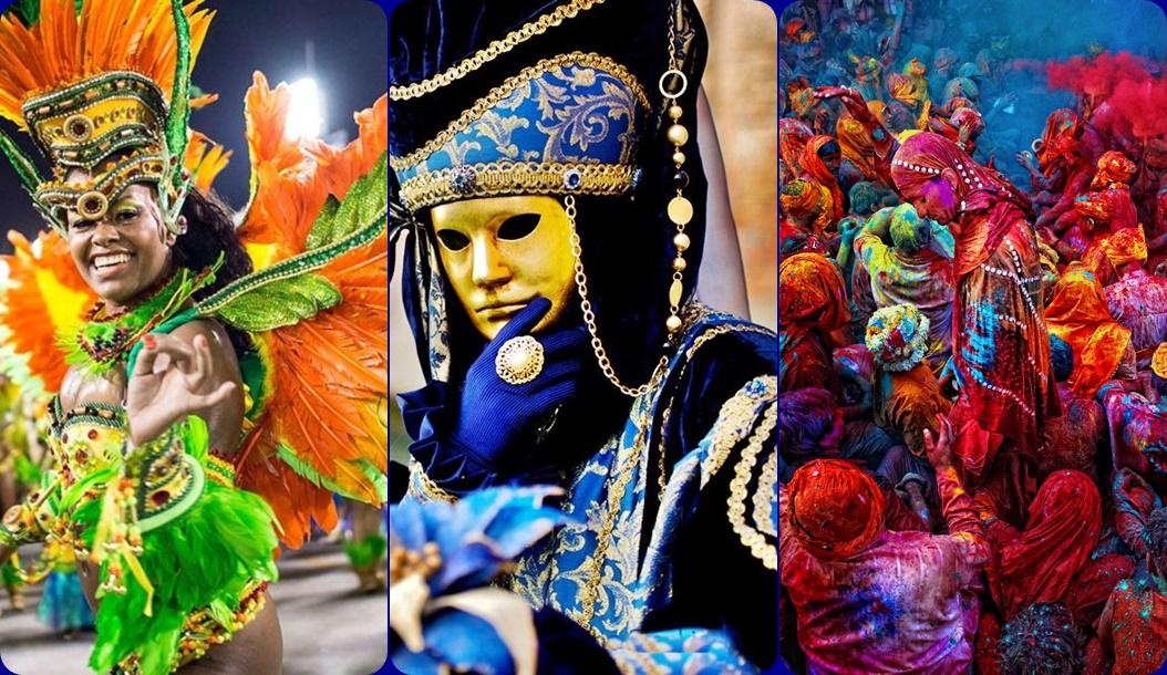 Dünyanın en ünlü 3 festivali, yeni yılın ilk günlerinde misafirlerini ağırlıyor.