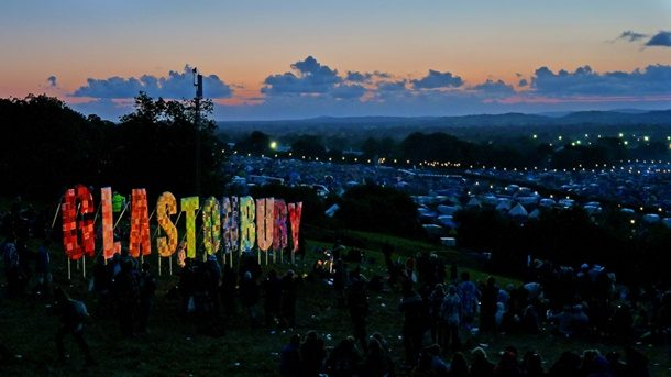 Glastonbury İngiltere