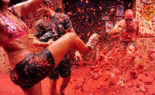 Domates Festivali İspanya