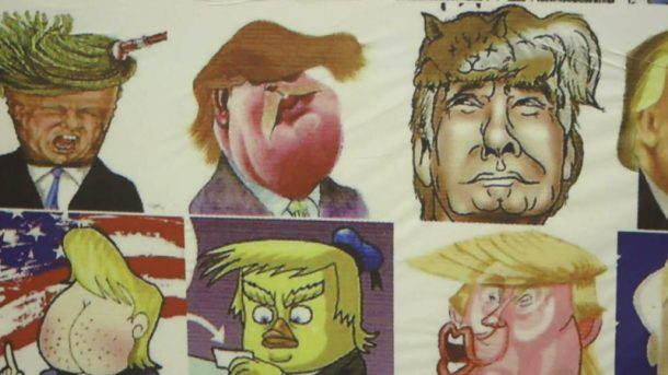 Meksika Karikatür Müzesi Donald Trump'ı kızdıracak