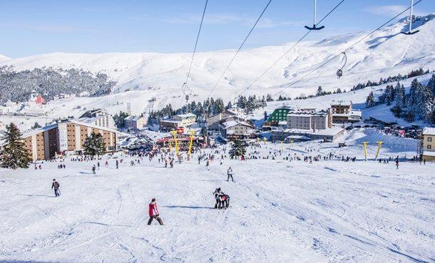 Kayak Merkezleri Sezona Hazırlanıyor