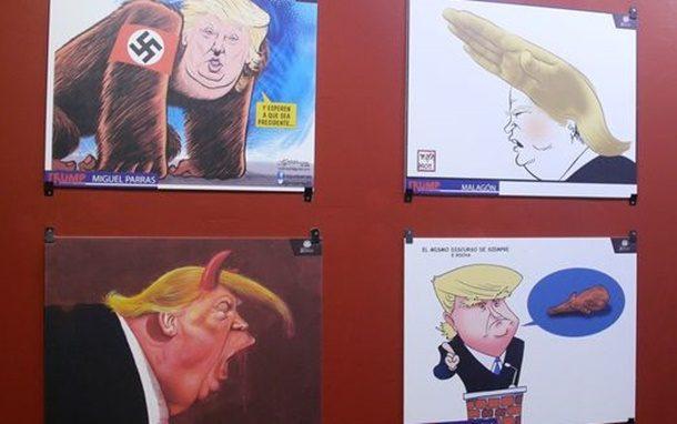 Meksika Karikatür Müzesi Donald Trump