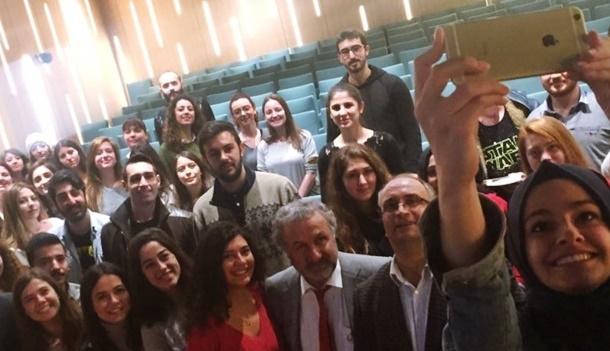 İstanbul Üniversitesi Öğrencilerinden TÜRSAB Ziyareti