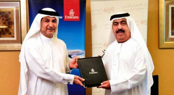 Emirates, Dubai Sivil Havacılık Kurumu ile anlaşma imzaladı