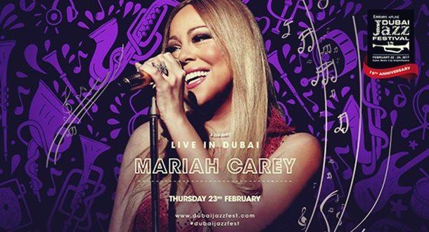 Emirates Dubai Jazz Festivalinde Mariah Carey Sürprizi