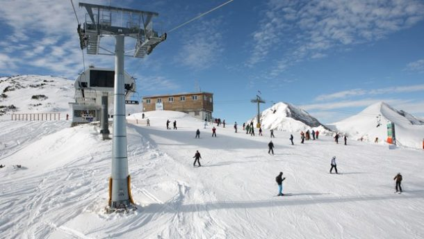 Turizmcilerin Gözü Kayak Merkezlerinde