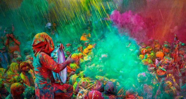 Hindistan Renkler Festivali İçin Geri Sayım Başladı