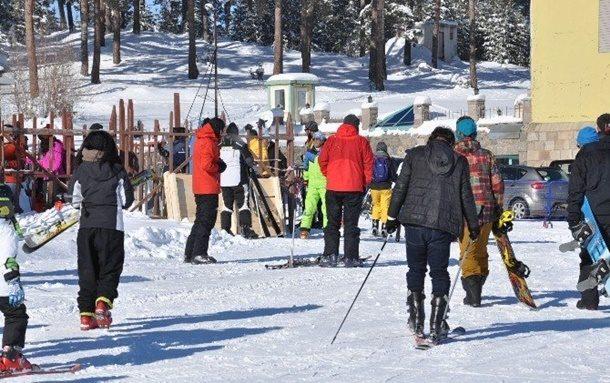 Kayak Merkezleri Doldu Taştı