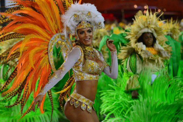 Rio Karnavalı Zamanı