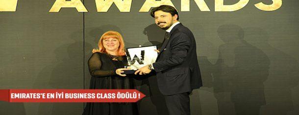 Emirates en iyi business ödülü turizmtatilseyahat