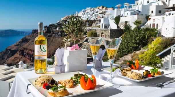 Santorini Yemek