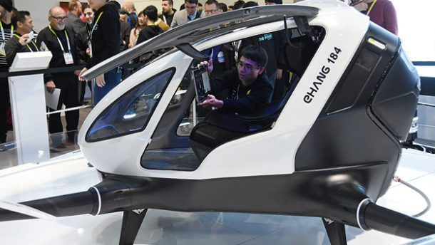 ehang drone taksi turizmtatilseyahat