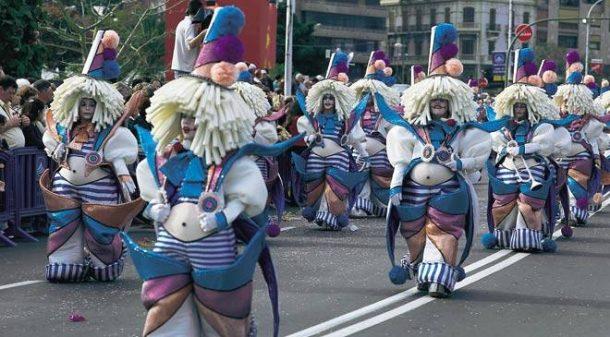tenerife karnavalı ispanya