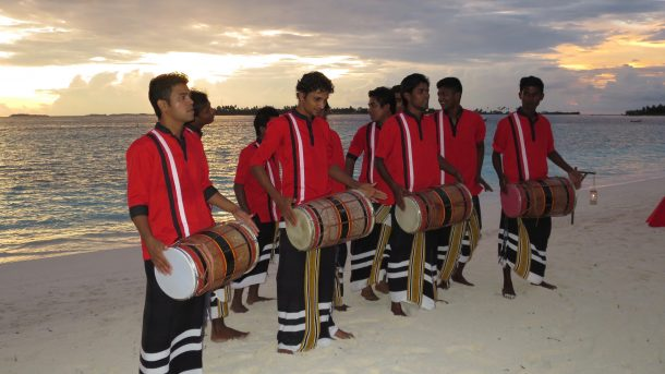 Boduberu Traditional Dance In Maldives