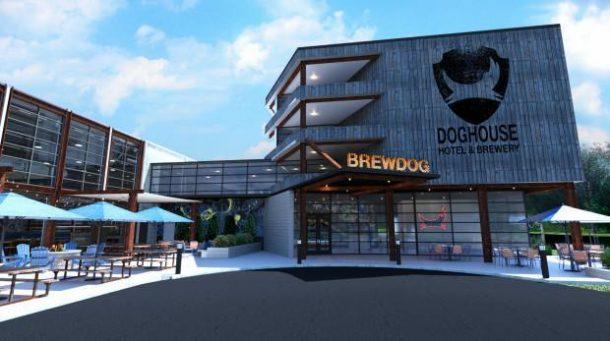 brewdog otel bira konsepti ohio