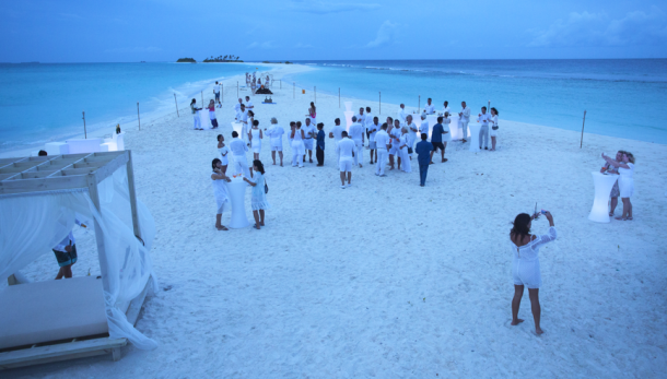 Party Of Finolhu In Maldives