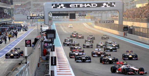 Formula 1 Abu Dhabi Etihad Grand Prix 2017 Yarışları