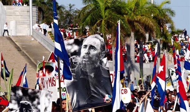 Küba 1 Mayıs Kutlamalarına Hazırlanıyor