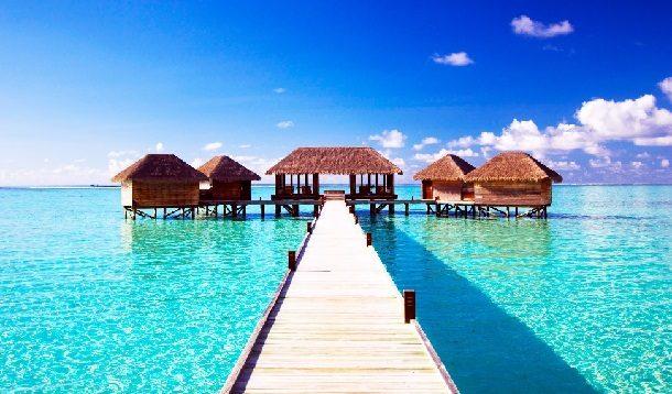 Maldivler Bungalow